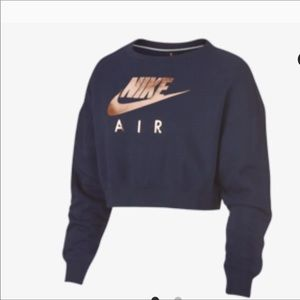 L OR XL NIKE SPORTSWEAR AIR RALLY CREW TOP NWT
